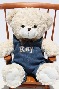 Lily S Personalized Teddy Bears Shopping At Kitchen