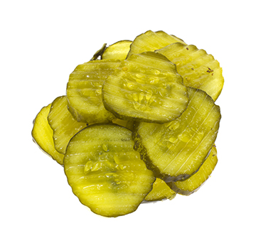 Fried Kickin Pickle Chips