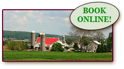 Book Pennsylvania Dutch Country lodging at Kitchen Kettle Village