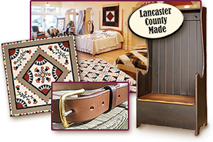 Lancaster PA Amish quilts and Lancaster County hand-made gifts