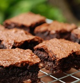 Blood Orange Olive Oil Brownies