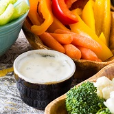 Horseradish Vegetable Dip