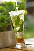 Pineapple Mint Tea Cooler
