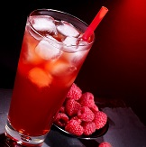 Raspberry Rhubarb Pink Lady Punch