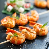 Pineapple Grilled Shrimp Skewers