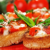 Zesty Kitchen Kettle Bruschetta