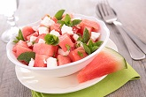 Kickin' Pickle and Watermelon Salad