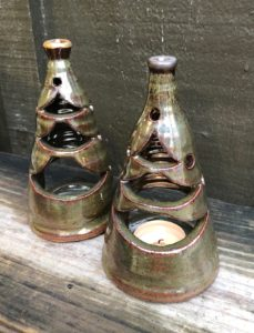 Garnett Pottery Votives
