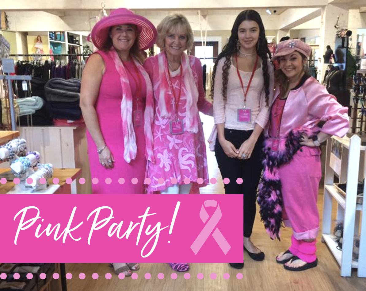 Turn the Village Pink!